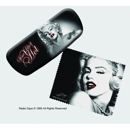 Marilyn Monroe Hard Eyeglass Case and Cleaning Cloth