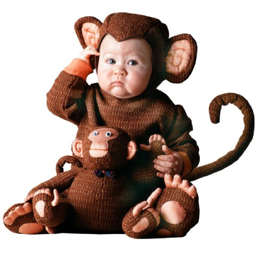[Tom Arma Monkey Web 12-18month] (Tom Arma Monkey Costumes)