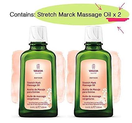 OFERTA WELEDA: Pack Ahorro con 2 x Aceite de Masaje para Estrías (2 x 100 ml) - Unidades Limitadas!