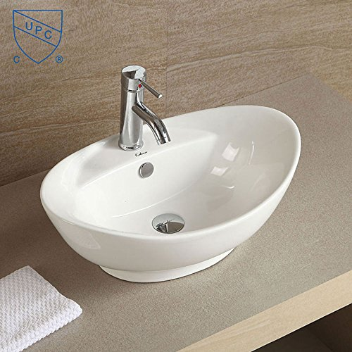 Oval Above Counter Basin - 9