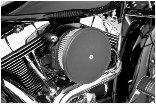 Arlen Ness Stage II Steel Cover, Chrome (Kawasaki Vulcan 2 Helmet)