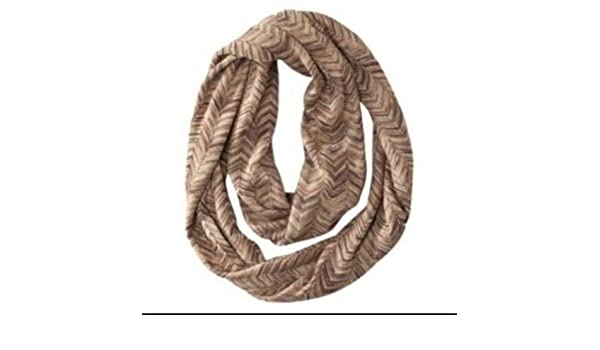a6cec40ec0991 Missoni Womens Infinity Scarf Brown/Gold Chevron Zig Zag at Amazon Women's  Clothing store: Fashion Scarves