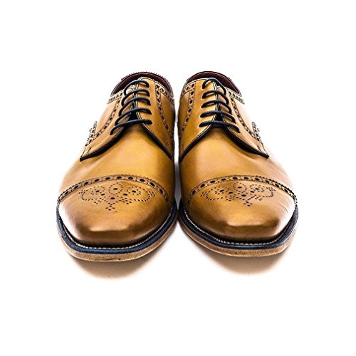 Tan Foley Formelle Bruni Lacets Loake Mens Chaussures BqZ4X