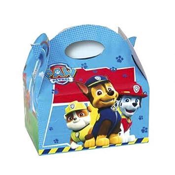 "Lote de 24 Cajas de Cartón Infantiles Decorativas ""Patrulla Canina"" para Caramelos,"