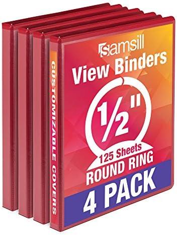 Samsill Economy Ring Binder 5 Round