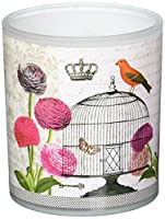 Paperproducts Design Passerines Vintage Birdcage Votive Holder Glass