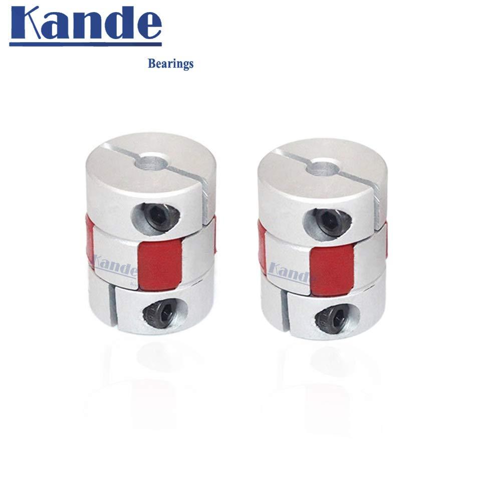 Fevas CF-03//BW series1PCS Flexible Plum clamp Coupler D40L66 Shaft Size CNC Jaw Shaft coupling//8//10//12//14//16//18//20//22mm D40 L66 Inner Diameter: 8 to 22