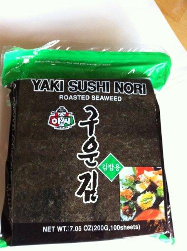 Yaki Sushi Nori Roasted Seaweed - Big Family Size