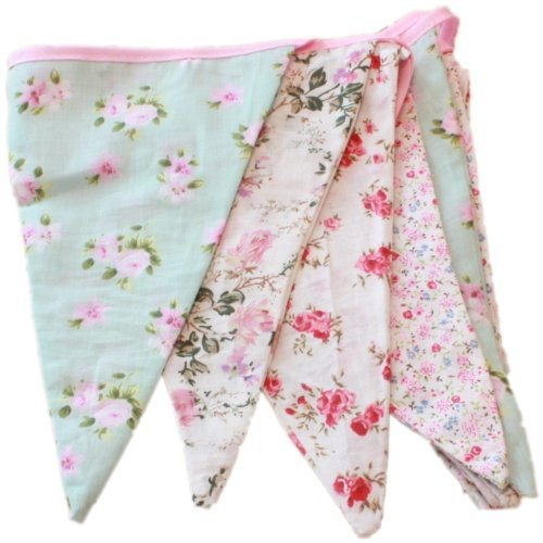 5 opinioni per English Vintage Floral Design Party Bunting (3 meters)