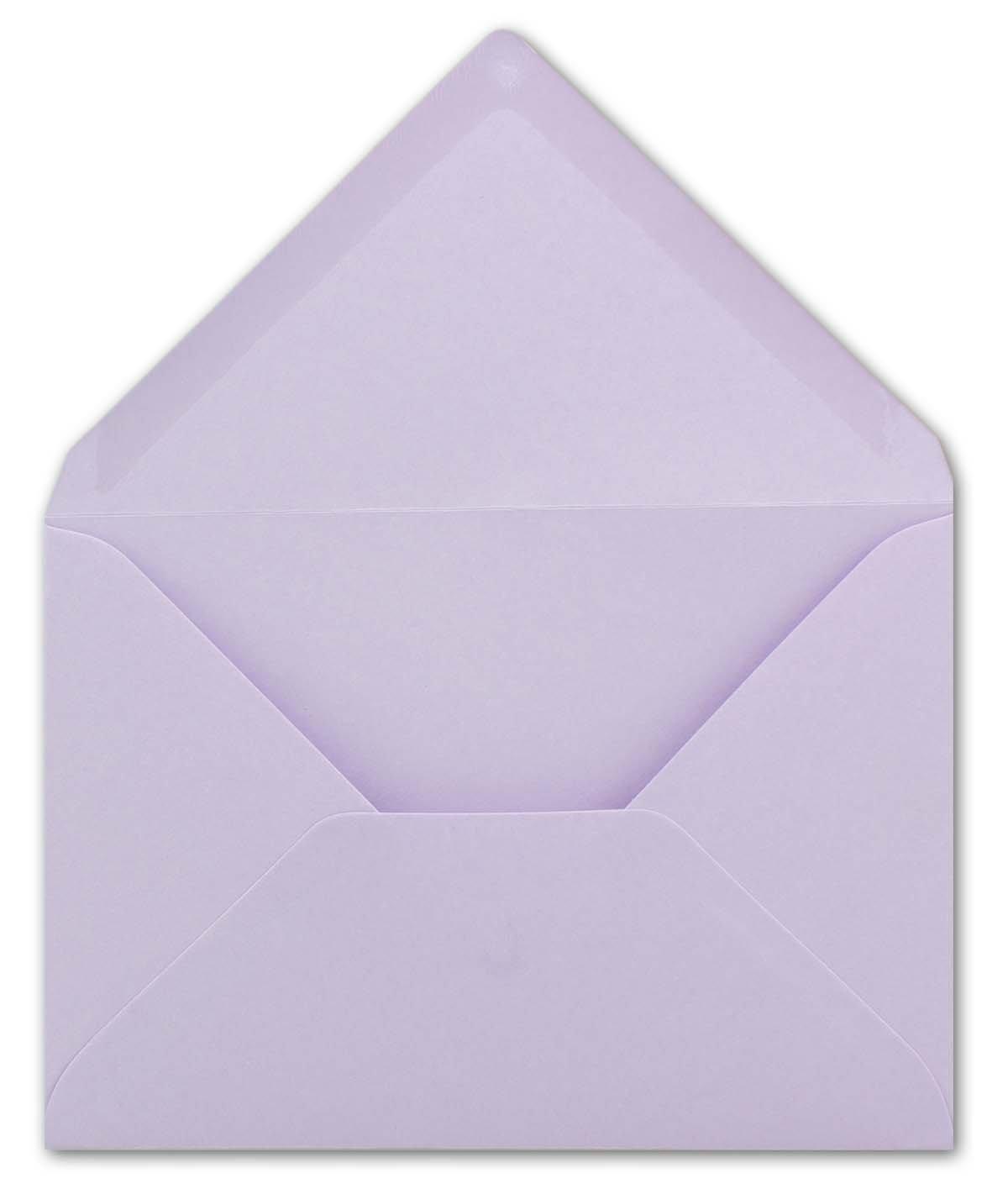 Enveloppes multicolores Neuser Fermeture adh/ésive 75 Umschl/äge 21-Lila Format/C6/- 162/x/114/mm