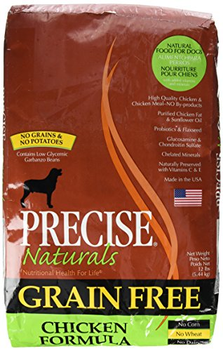 Precise Naturals Grain-Free Chicken Formula Adult Dry Dog Food, 12-lb bag