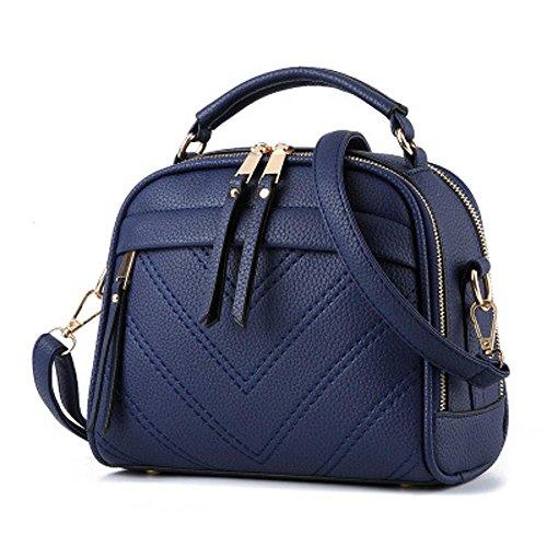 Aoligei Femme sac messager de version coréenne Fashion tendance sac à main sac pu épaule sacs K
