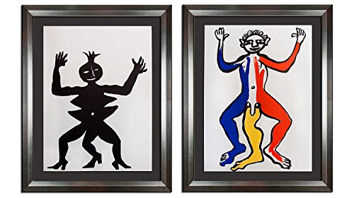 Modern Now Alexander Calder (1898-1976) Original Lithograph (2pc. Set) | 1975 | Circus | Limited Edition | Gallery Provenance | ART183;docs8482; +179