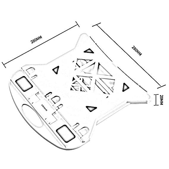 Amazon Com Zzhf Diannaozhijia Notebook Stand Folding Rotary