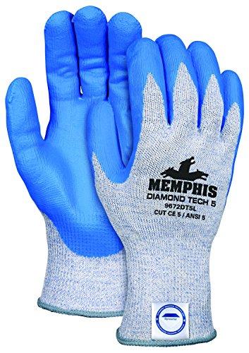 MCR Safety 9672DT5PUM Memphis Diamond Tech 5 10 Gauge Dyn...