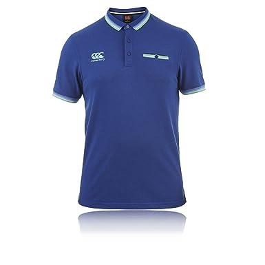 Canterbury - Polo - para Hombre Azul XXXXL: Amazon.es: Ropa y ...