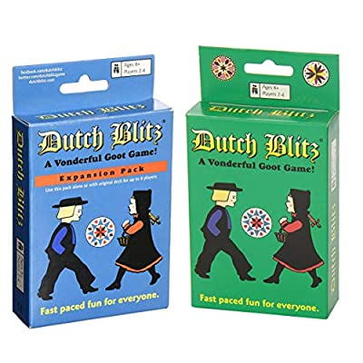 Dutch Blitz Original and Expansion Pack Set Card Game: Toys & Games