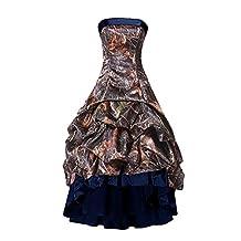 DianSheng Camo High Low Dance Cocktail Prom Homecoming Dresses AS751