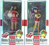 Sega Love Hina Again extra Christmas figure all two