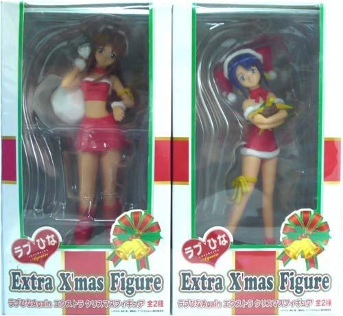 Sega Love Hina Again extra Christmas figure all two