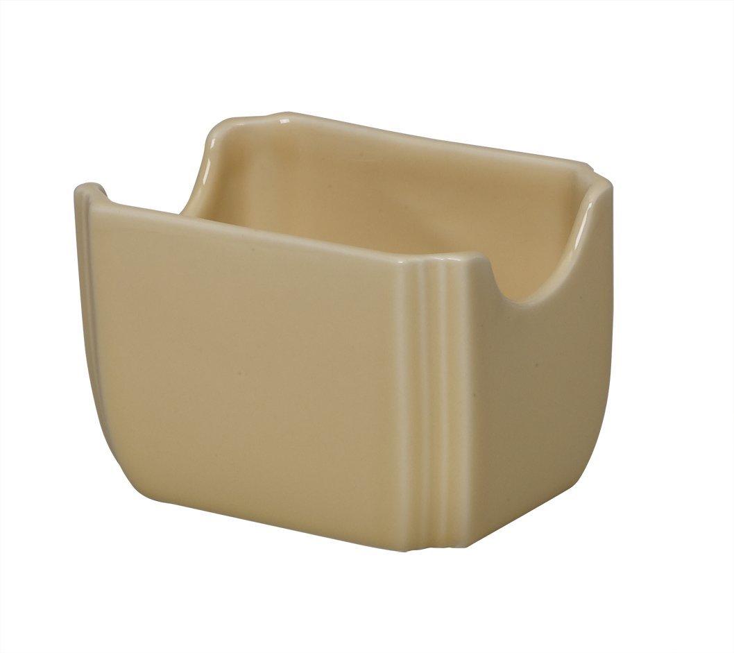 Fiesta 3-1/2-Inch by 2-3/8-Inch Sugar Packet Caddy, Ivory
