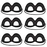 #10: Disney/Pixar Incredibles 2 Black Felt Eye Mask - 6 Pack