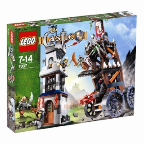 [해외] LEGO (레고) - 7037 - CASTLE - JEUX DE CONSTRUCTION - L'ATTAQUE DE LA TOUR 블럭 장난감 (병행수입)