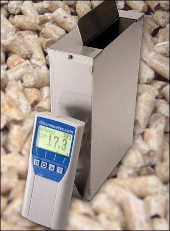 Humimeter BP1 Wood Pellet Moisture Meter, Measuring Range: 3 to 20%