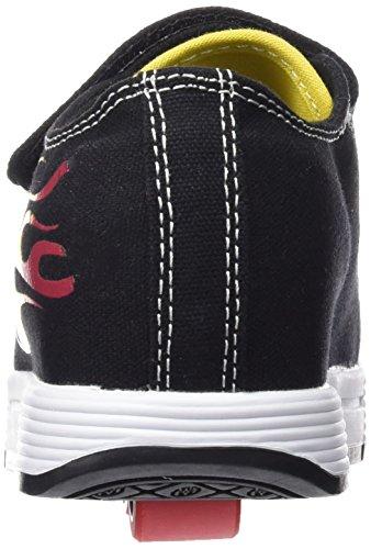 HEELYS Spiffy 770717 - Zapatos 2 ruedas para niños Black/Rasta