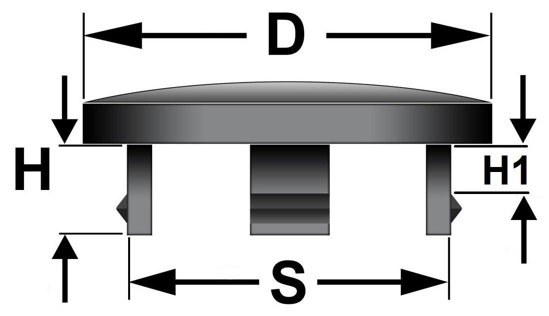 60mm Universal Alloy Wheel Center Centre Hubs Caps JD Trade 4x /Ø 62mm