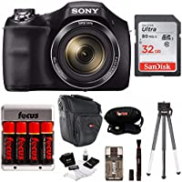 Sony Digital Camera Bundle Featuring DSCH300B, DSLR...