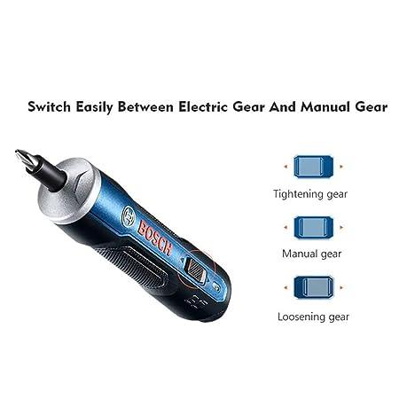 Bosch Go 3.6 V Smart atornillador Top calidad del producto, Azul: Amazon.es: Bricolaje y herramientas