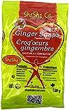 ShaSha Organic Spelt Ginger Snap Cookies, 10.5oz (300g)