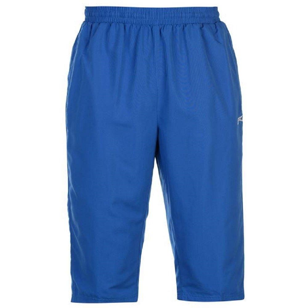 Slazenger Mens Summer Three Quarter Tracksuit Bottoms Shorts