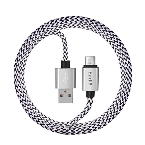 Micro USB Cable, Earfly Charging Cable Braided ...