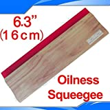 INTBUYING Screen Printing Squeegee 6.3 inches