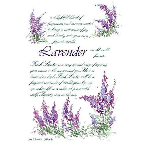 Fresh Scents Scented Sachets - Lavender,7.0 cu.in-Lot of 6