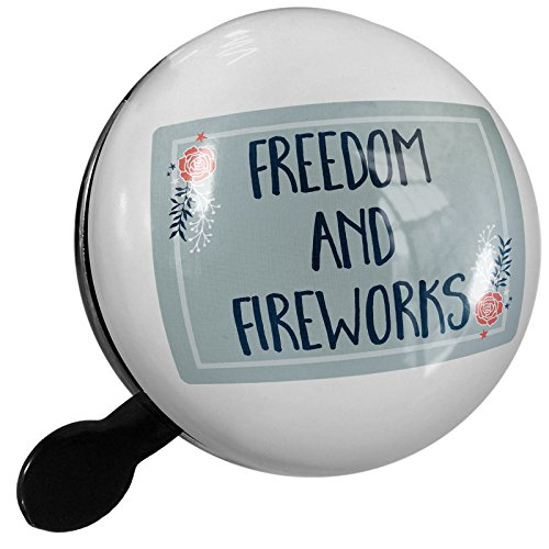 Small Bike Bell Freedom and Fireworks Fourth of July Roses and Stars - NEONBLOND by NEONBLOND