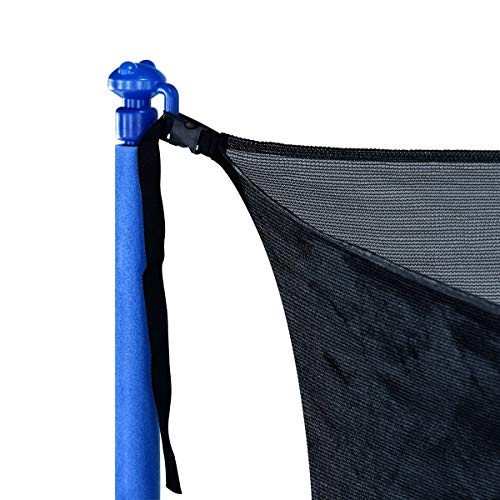 Zupapa 15FT 14FT 12FT 10FT Trampoline Inside-Enclosure net Replacement Black Mesh (12FT) by Zupapa (Image #1)