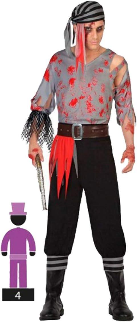 Cisne 2013, S.L. Disfraz para Halloween de Hombre de Pirata ...