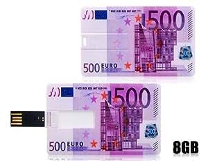 Obtener 500 EUROS 8 GB card USB flash drive