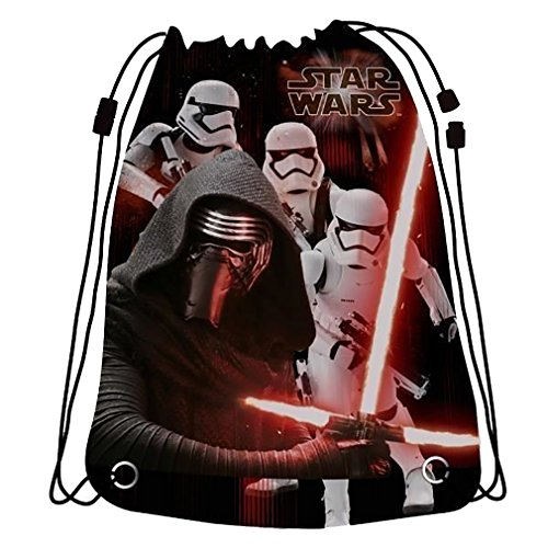 All Backpack Drawstring Star - Drawstring Backpack Star War Swimming Bag,Beach Bag Gym Bag Official Licensed