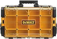 DEWALT DWST08202 Tough System 100 Bucket Tool Organizer with Clear Lid, black