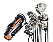 Founders Club The Judge Mens Complete Golf Set, Graphite, Regular Flex, Left-handed