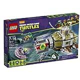 ninja turtles lego figures - LEGO Ninja Turtles 79121 Turtle Sub Undersea Chase Building Set