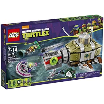 Amazon.com: LEGO Teenage Mutant Ninja Turtles Dogpound ...