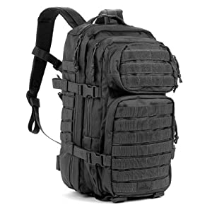 Red Rock Outdoor Gear Assault Pack (Medium, Black)