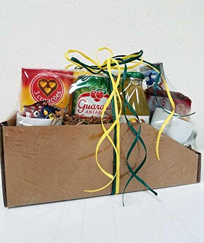 Brazilian Gift Basket - Cesta de Presente Brasileira (Brazilian Cookies)