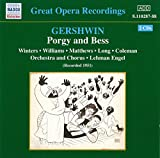 George Gershwin Porgy and Bess (Winters, Williams, Long) (1951)