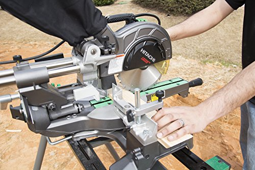 Hitachi C8FSHE 8-1/2-Inch Sliding Compound Miter Saw with Laser Marker (Discontinued by the Manufacturer)